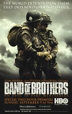 POSTER BAND OF BROTHERS WAR STEVEN SPIELBERG 1 2 SERIE TV BIG  #3