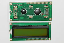 1PC 1602 162 16X2 CHARACTER LCD DISPLAY MODULE HD44780 CONTROLLER YELLOW LIGHT