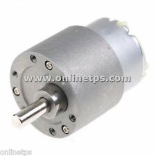 100 RPM Motor Metal Body Side Shaft for Robotics Free 1 Pc Motor Clamp Fitting