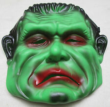 Vintage Frankenstein Mask Halloween Party Costume Accessory Prop Horror Monster