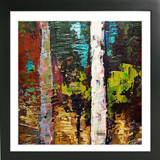 16 x 16 ORIGINAL MODERN ABSTRACT LANDSCAPE FINE ART POSTER only at Cen Arte