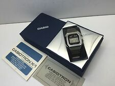 NOS CASIO Casiotron 1977 X1 S14 Digital LCD Quartz World Time watch uhr MOT
