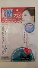 Daiso Japan Reusable Silicon Mask Cover for Sheet Prevent Evaporation  clear