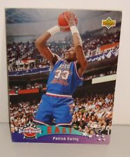 CARTE DE COLLECTION BASKET BALL EAST ALL STARS PATRICK EWING