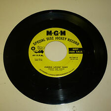 ROCKABILLY 45RPM RECORD - CHARLEY AND JUNIOR - MGM 12615 - PROMO