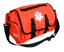 Durable Empty First Responder On Call Trauma Kit Bag With Reflectors in Orange