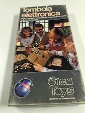 Tombola Eletronica Clem Toys Vintage 70 Nib Board Game