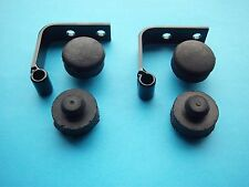 TRIUMPH DUALSEAT HINGES & BUFFERS TR6/TR7/T120/T140 1971 ONWARDS  *NEW*