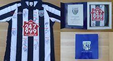 2010-11 West Brom Home Shirt Signed by Squad - Official COA (7389)