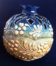 Turkish Ceramic Pomegranate Delight Bowl Porcelain Ottoman Embossed Handmade-2
