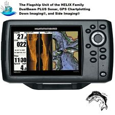 Humminbird Helix 5 G2 Chirp SI Fishfinder/GPS/Chartplotter With Built-in UniMap