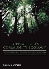 Tropical Forest Community Ecology-ExLibrary