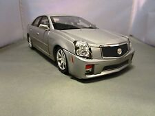 RICKO 1/18 SILVER 2004 CADILLAC CTS-V USED NICE **ISSUE** NO BOX