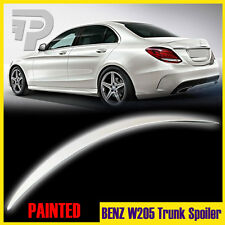 Painted#799 Mercedes BENZ W205 C300 C250 4DR C-Class A-Look Trunk Wing Spoiler
