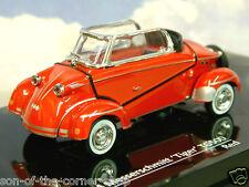 VITESSE DIECAST 1/43 1958-61 MESSERSCHMITT TIGER TG500 CABRIOLET IN RED 29054