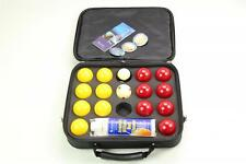 "SUPER ARAMITH PRO CUP 2"" Red & Yellow Pool Balls, Ball Cleaner & Case Set!"