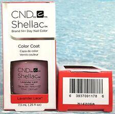 CND Shellac LAVENDER LACE Spring '16 FLIRTATION UV/LED Gel Color Nail Polish NIB