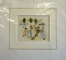 Antique Print Kate Greenaway Little Ann Mounted ready to frame c1883