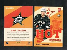 JAMIE OLEKSIAK #HK3 Dallas Stars  RC Hot Rookies 2013/14 Panini toronto Expo