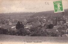 CPA SUISSE SCHWEIZ BONCOURT vue générale stamped 1909