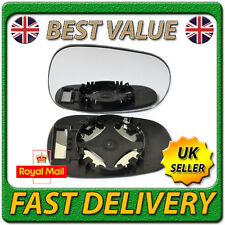 Right Driver Off Side Convex Wing Door Mirror Glass for RENAULT MODUS 2004-2008