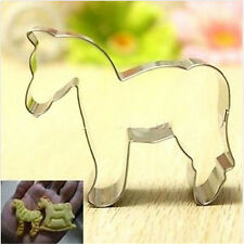FD3035 Animal Horse Stainless Steel Biscuit Cookie Cutter Fondant Cake DIY Mold♫