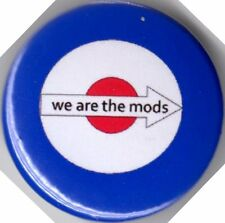 WE ARE THE MODS TARGET MOD Pin Badge VESPA LAMBRETTA SCOOTER RALLY SCOOTERING