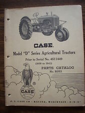 Case D DC DO DV DH Parts Manual