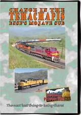 Change in the Tehachapi's BNSF'S Mojave Sub DVD NEW Highball SP BN UP SF