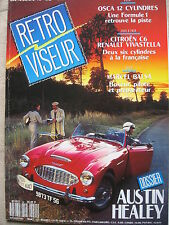 REVUE RETROVISEUR N°42 AUSTIN HEALEY OSCA 12 CYL CITROEN C6 VIVASTELLA INDIAN 4