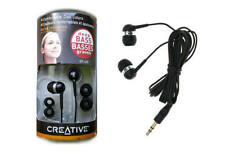 Box Pack Creative EP-630 In-Ear Noise-Isolating Earphones (Black)