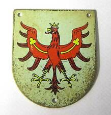 WW2 German U-Boat Cap Hat Badge Emblem U256 Wilhelm Brauel U-975 U-3530 WW2 Aged