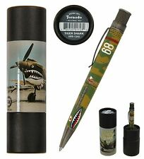 Retro 51 #VRR-1340 / Tiger Shark Tribute Series Twist Action Tornado Pen