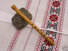 SOPILKA Piccolo in F, Ukrainian Chromatic Handmaded wooden Flute recorder Bag