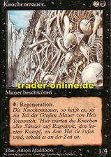 Knochenmauer (Wall of Bone) Magic limited black bordered german beta fbb foreign