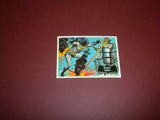 BATMAN card #47 Topps 1966 black bat/orange back