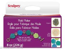 Sculpey MOLD MAKER 226 gr- Arcilla para crear Moldes FLEXIBLES - bases cupcakes
