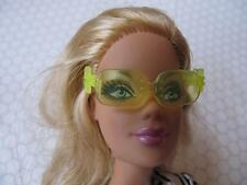 My Scene Fashionista Glam Luxe Life in the Dream House Sunglasses~Yellow Flower