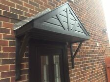 UPVC, BLACK ASH , DOOR CANOPY ,  ALSO IN MAHOGANY / ROSEWOOD /  LIGHT OAK .