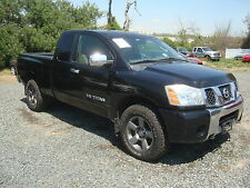 Nissan: Titan SE King Cab Salvage Rebuildable