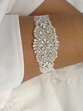 Wedding Garter, Bridal Garter, White Lace Garter, Garter