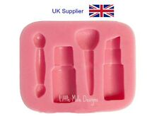 Makeup Silicone Mould For Fondant Sugarcraft Tool Mold Cake Decorating Beauty
