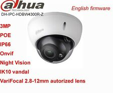 DaHua HDBW4300R-Z 3MP POE VariFocal Motorized 2.8-12mm Dome CCTV HD IR IP Camera