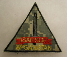 "AFGHAN MADE ""ISAF SOF"" INT'L SECURITY AFGHAN FORCE SPEC OPER FORCES DIGITAL CAMO"