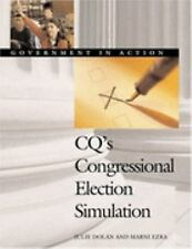 Cq's Congressional Election Simulation: Government in Action (Governme-ExLibrary