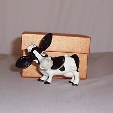 LITTLE PAWS Miniatures - figurine boxes Ermintrude the Cow