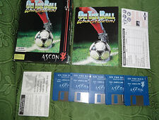 ON THE BALL WORLD CUP - For AMIGA - COMPLETE AND NEAR MINT CONDITIONS