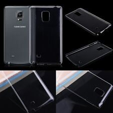 For Samsung Galaxy Note Edge N915 Clear Crystal Hard Plastic Back Case Cover