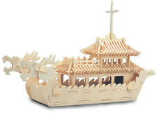 Quay Wooden Construction Kit - DRAGON BOAT P085
