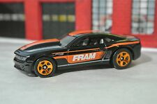 Hot Wheels '13 Chevy COPO Camaro - Black - Fram - Loose - 1:64